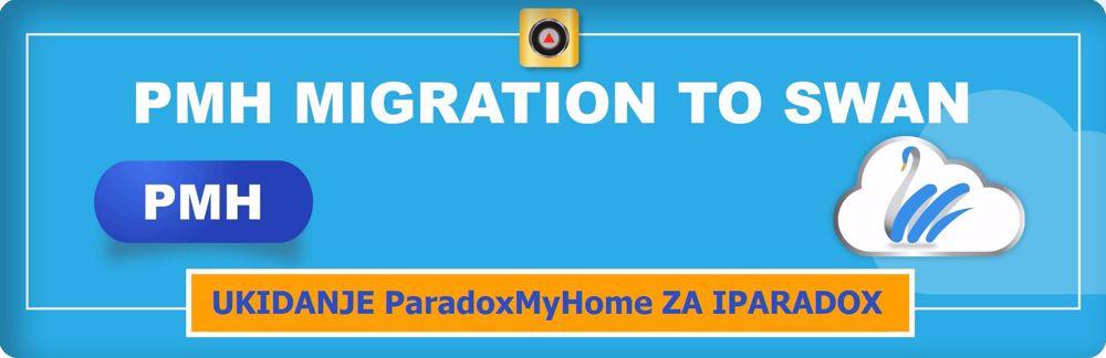 Ukidanje ParadoxMyHome (PMH) usluge