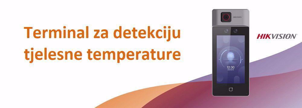 Terminal za detekciju tjelesne temperature