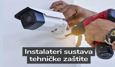 Poziv instalaterima sustava tehničke zaštite