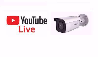 Povezivanje Hikvision kamera na YouTube