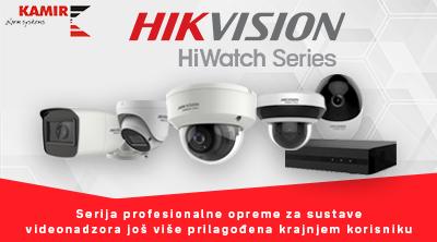 Novo u ponudi  - HiWatch serija